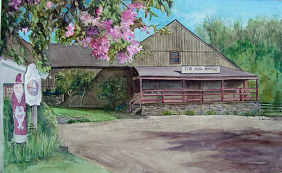 The Mill House in the Spring by Katherine  Berlin