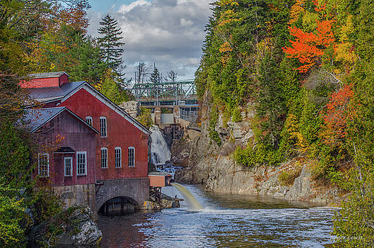 The Mill in Fall by Roger Lewis