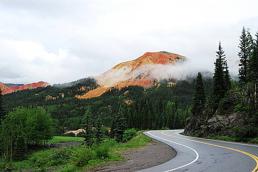 The Million Dollar Highway To Ouray by Brad Hodges