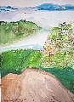 The Misty Valley Below by Elizabeth A Gawronski
