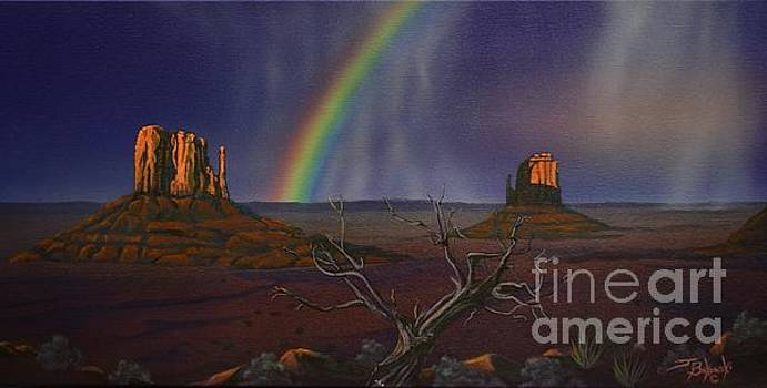 The MITTENS Monument Valley by Jerry Bokowski