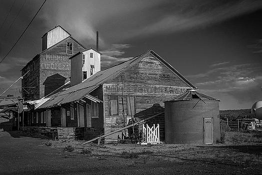 The Modoc Co-Op Grainery by Roland Peachie