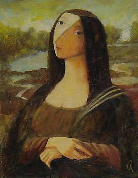 The Mona Lisa Next Door by Glenn Quist