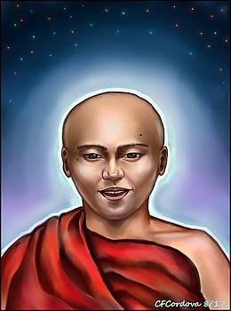 The Monk -Spirit of Light by Carmen Cordova