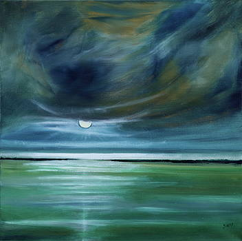 The Moon Borrows its Light to Keep Oppression from Sinking to Earth by David King Johnson