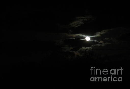 The moon in between by Marie Neder