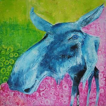 The moose by Bitten Kari