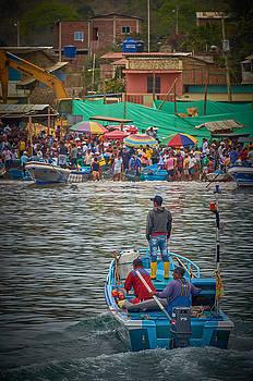 The Morning Fish Market by Richard Espenant