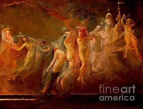 The Morning Stars 1887 by Peter Gumaer Ogden