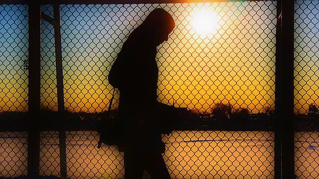 The Morning Walk to Work by Eddy Mann