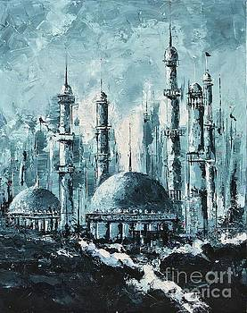 The Mosque-2 by Nizar MacNojia
