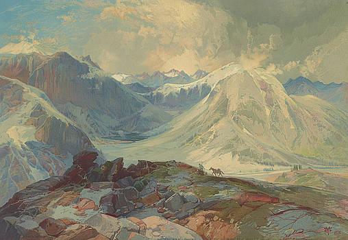 Ricky Barnard - The Mosquito Trail Rocky Mountains Colorado 1876