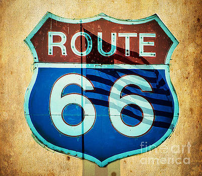 The Mother Road Route 66 by MaryJane Armstrong