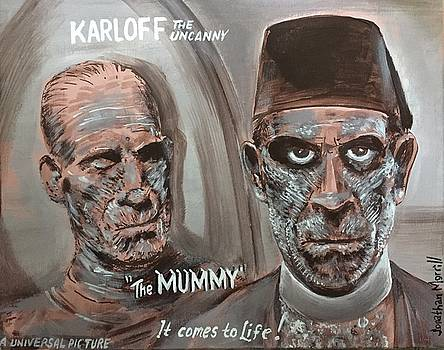 The Mummy - 1932 Lobby Card That Never Was by Jonathan Morrill