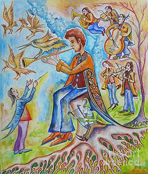 The music is divine by Milen Litchkov