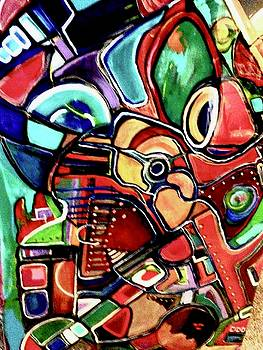 The musician by Kathy Othon