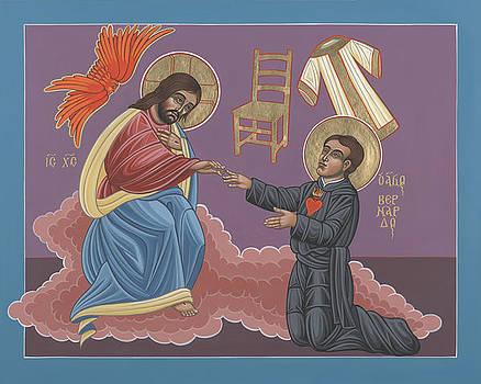 The Mystical Marriage of Blessed Bernardo de Hoyos 219 by William Hart McNichols