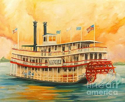 The Natchez Riverboat by Diane Millsap