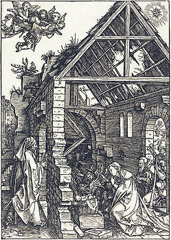 Albrecht Durer - The Nativity
