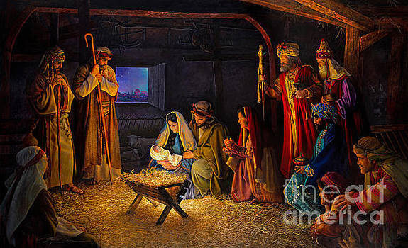 The Nativity by Greg Olsen
