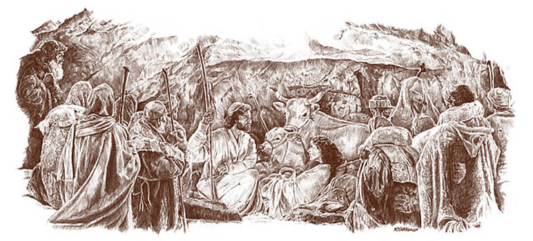 The Nativity by Richard W Cleveland