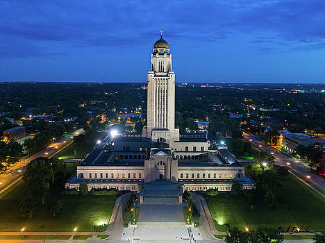 The Nebraska State Capitol Building by Mark Dahmke