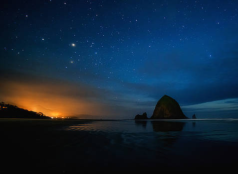 The Needles at Haystack - Cannon Beach by Chad Tracy