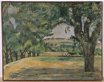 Paul Cezanne - The Neigborhood of Jas De Bouffan