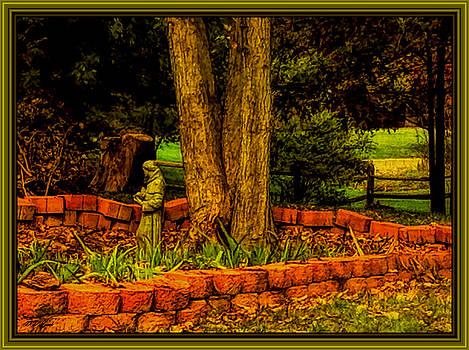 The Neighbors Garden by Debra Lynch