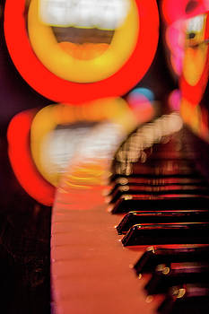 The Neon Piano Bar by Matt Spangard