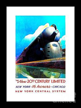 Peter Gumaer Ogden - The New 20th Century Limited New York Central System 1939 Leslie Ragan II