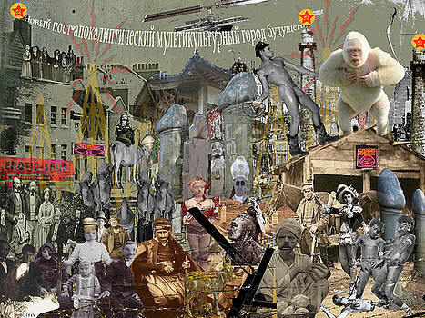 DOUG DUFFEY - The New Post Apocalyptic Multicultural City