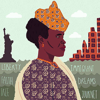 The New World, Immigration by Nicole Wilson