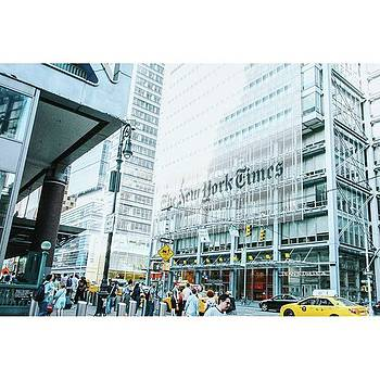 The New York Times !  #nyc #vsco by Shivendra Singh