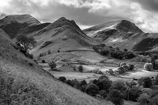 The Newland valley in Cumbria by Pete Hemington