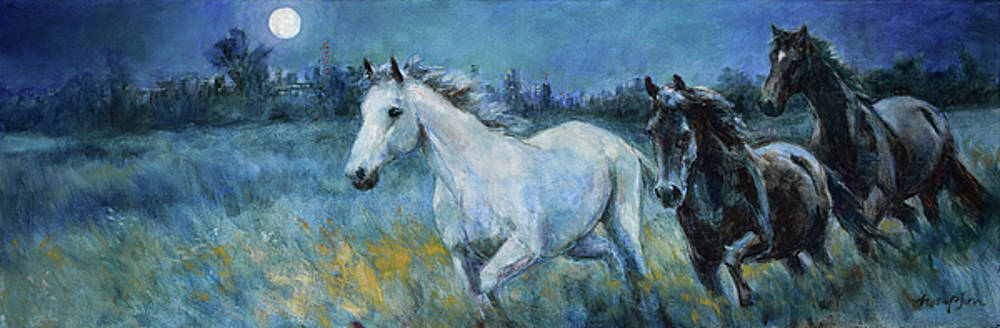 The Night Horses by Tracie Thompson