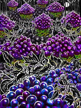 The Night Of The Groovy Grapes by Steve Farr