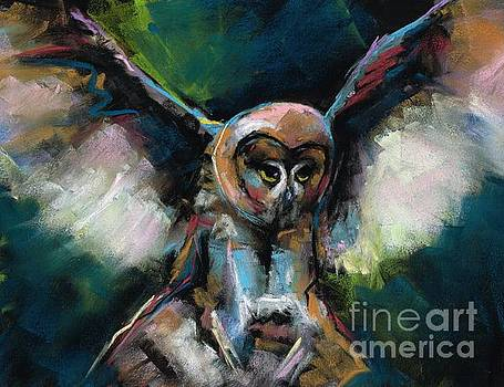The Night Owl by Frances Marino