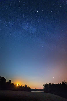 The night we call it a day by Davor Zerjav