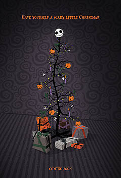 The Nightmare Before Christmas Alternative Poster by Christopher Ables