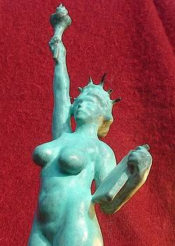 The Nude Statue of Liberty by Olivier Duhamel
