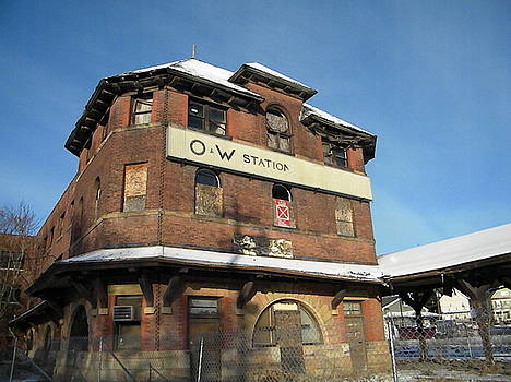 The O and W Station by Melissa Mendelson