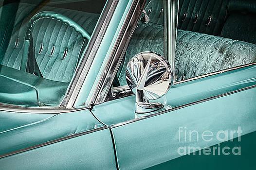 The Ocean Blue Classic Car by Martin Bergsma