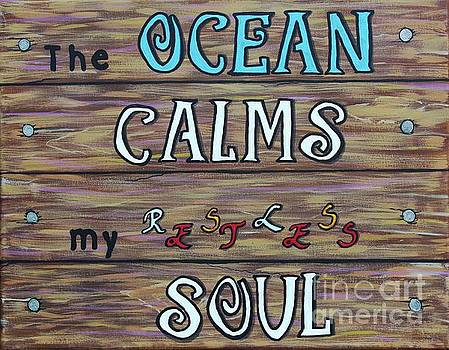 Barbara Griffin - The Ocean Calms my Restless Soul