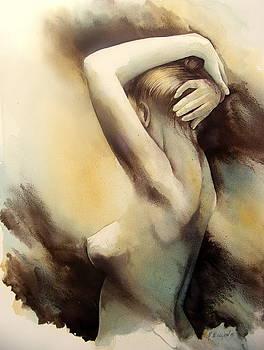 The Offering In Light by Fabien  Petillion
