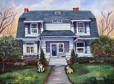 The Ogden home by Patricia Piffath