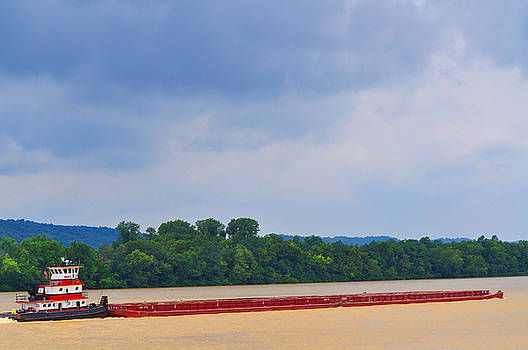 The Ohio River by Peter  McIntosh