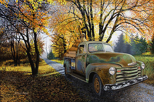 The Ol' Pumpkin Hauler by Anthony J Padgett