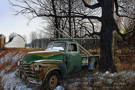 The Ol' Work Truck by Anthony J Padgett