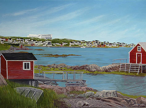 The Old and the New on Fogo Island by Doug Goodale